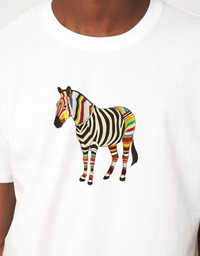 Image 3 ofPaul Smith Jeans Zebra T-Shirt