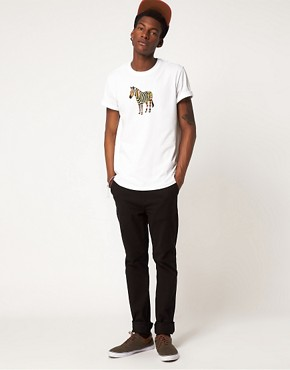 Image 4 ofPaul Smith Jeans Zebra T-Shirt