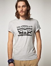 Levis Two Horse T-Shirt