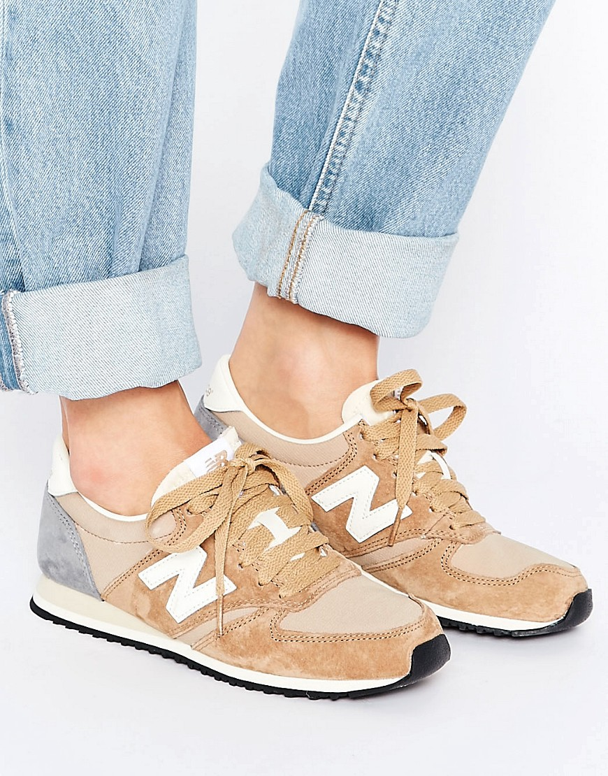 New Balance - 420 - Beigefarbene Sneaker - Beige - Farbe:Beige