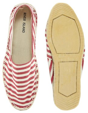 Image 3 ofRiver Island Striped Espadrilles