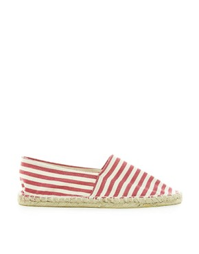 Image 4 ofRiver Island Striped Espadrilles