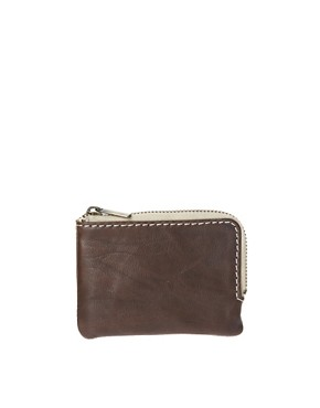 Image 1 ofASOS Leather Zip Around Wallet