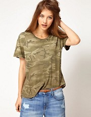Current/Elliot Camo T-Shirt