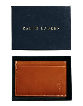 Image 3 ofPolo Ralph Lauren Leather Cardholder