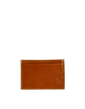 Image 1 ofPolo Ralph Lauren Leather Cardholder