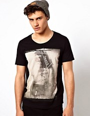 Clubbed To Death T-Shirt With Obey Champagne Print