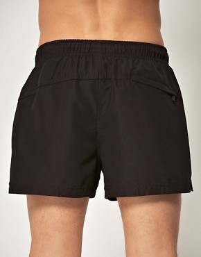 Image 2 ofCalvin Klein Logo Tape Swim Shorts