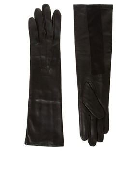 Image 1 ofGanni Audrey Leather Gloves