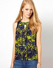 Whistles Thea Tropical Floral Top