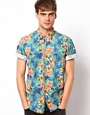 Jack & Jones Shirt With Floral Print
