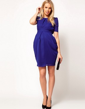 Image 4 of ASOS Maternity Exclusive Tulip Dress