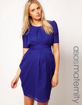 Image 1 of ASOS Maternity Exclusive Tulip Dress