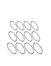 ASOS Multipack Fine Every Finger Rings