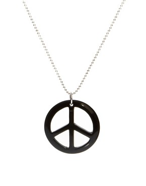 Image 1 ofJust Acces Fry Peace Necklace