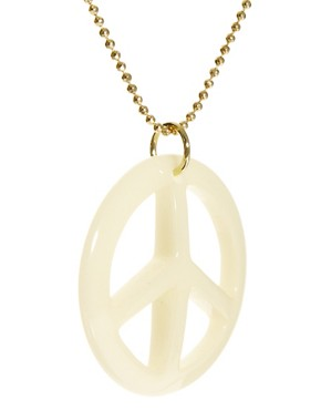 Image 4 ofJust Acces Fry Peace Necklace