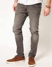 Lee Jeans Luke Skinny Fit Washed Grey