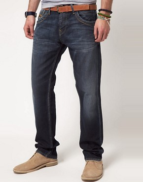 Image 1 of Pepe Tooting Jeans Regular Fit Dark Wash