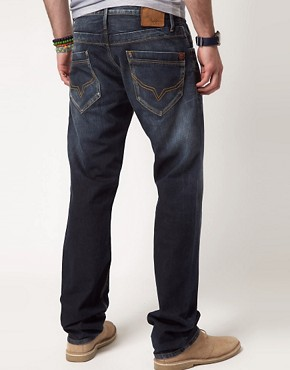 Image 2 of Pepe Tooting Jeans Regular Fit Dark Wash