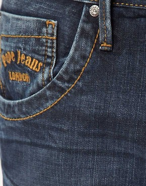 Image 3 of Pepe Tooting Jeans Regular Fit Dark Wash