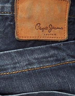 Image 4 of Pepe Tooting Jeans Regular Fit Dark Wash