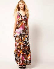 Traffic People Flutterby Maxi Dress