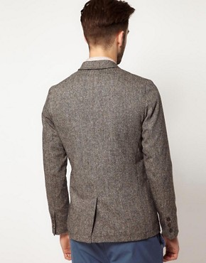 Image 2 ofFarah Vintage Blazer in Tweed