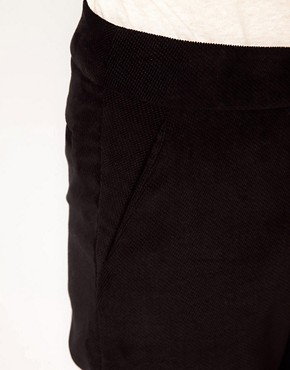 Image 3 ofBA&amp;SH Tailored Slim Trousers with Roll Up Hem