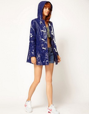 Image 4 ofASOS Swing Parka With Rope Tie