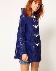 ASOS Swing Parka With Rope Tie