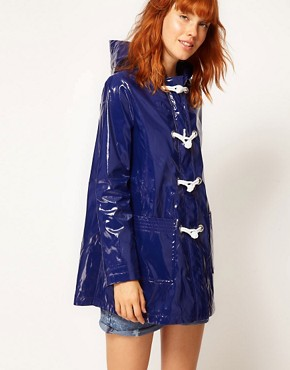 Image 1 ofASOS Swing Parka With Rope Tie