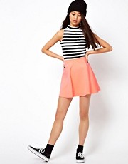 River Island Jersey Skater Skirt