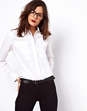 ASOS Shirt with Textured Panels