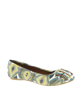 Image 1 ofTimeless Kelly Tribal Flat Pump