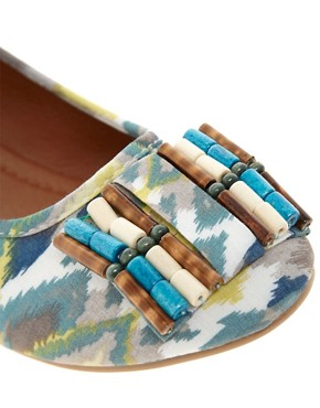 Image 2 ofTimeless Kelly Tribal Flat Pump