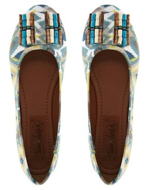 Image 3 ofTimeless Kelly Tribal Flat Pump