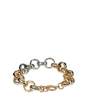 Image 2 ofASOS Circle Link Bracelet