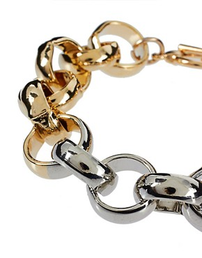Image 3 ofASOS Circle Link Bracelet