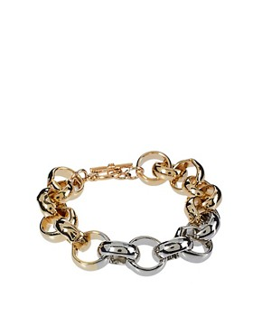 Image 1 ofASOS Circle Link Bracelet