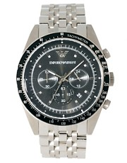 Emporio Armani AR5988 Silver Steel Watch