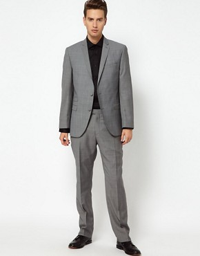 Image 4 ofGibson Suit Jacket Check Slim