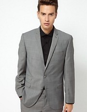 Gibson Suit Jacket Check Slim