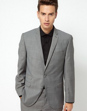 Image 1 ofGibson Suit Jacket Check Slim