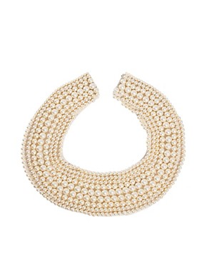 Image 2 ofASOS Pearl Collar