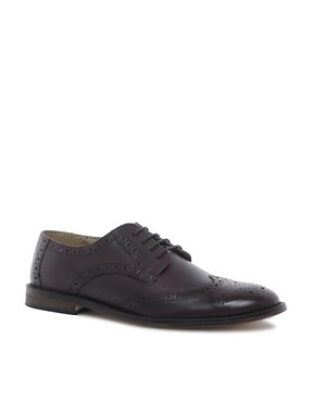 Image 1 ofASOS Brogues With Leather Sole