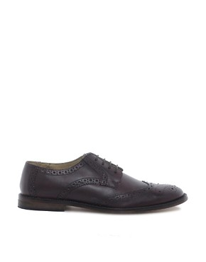 Image 4 ofASOS Brogues With Leather Sole