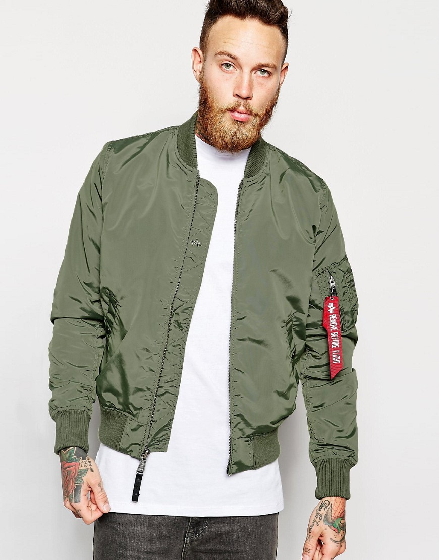 alpha industries alpha industries ma 1 bomber jacket. Black Bedroom Furniture Sets. Home Design Ideas