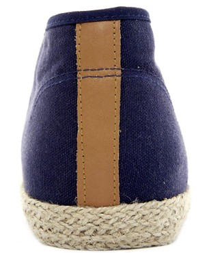 Image 2 ofASOS Canvas Chukka Boots With Jute Wrap