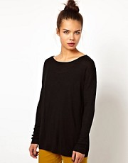 WH100 by Won Hundred Alida Relaxed Jumper in Linen Knit