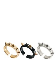 ASOS Multipack Spike Rings